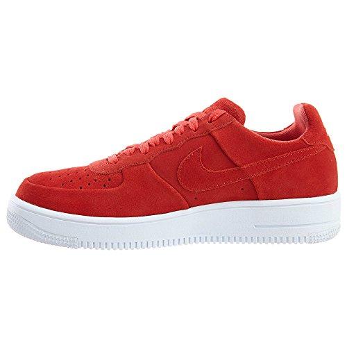 Nike - Air Force 1 Ultraforce - 818735602 - Farbe: Rot-Weiß - Größe: 45.0
