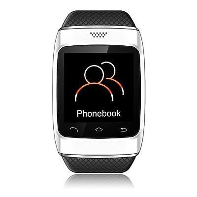 PowerLead PL- S12 Bluetooth V3.0 Sports Smart Watch- White