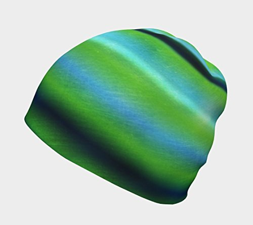Beanie Hat | Slouchy Hat | Unisex Beanie Hat | Seahawks Fan Gear | Abstract Seattle Seahawks Team Colors | Custom Print Hat | Girlfriend Gift | Winter Hat | Kids Beanie Hat | Mens Slouchy Beanie (Fan Beanie Team)