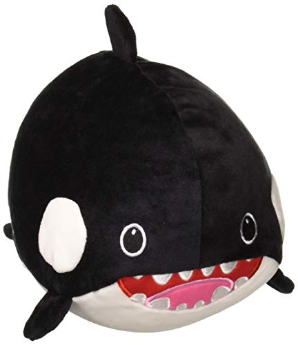 Fiesta Toys Lil Huggy Oswaldo Orca Whale Stuffed Toy 8