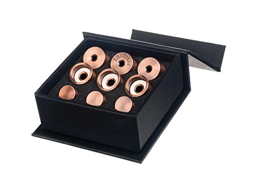 Trumpet Trim Kit for improving the sound. for all Yamaha (All YTR) Trumpet. Custom made KGUBrass (MEDIUM, Antique Copper Lacquer)