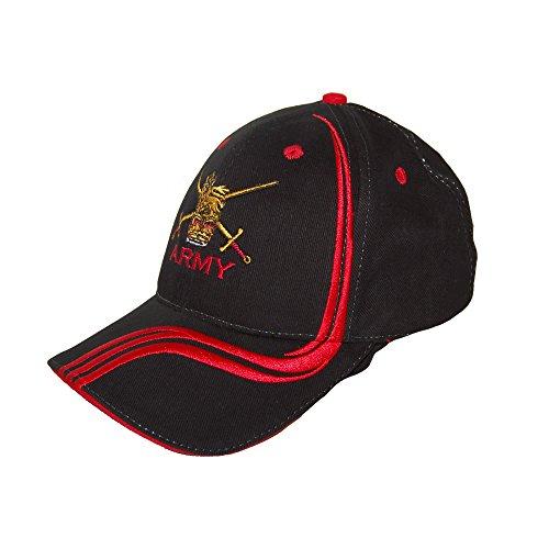 de Unique Rojo Negro Taille Negro béisbol Joe's para Gorra Pineapple Hombre q0OBEwv80