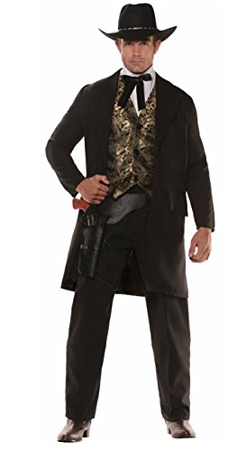The Gambler Cowboy Plus Size Costume - Wild West Costumes Plus Size