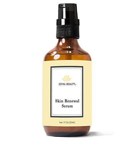 Joyal Beauty Organic Timeless Skin Renewal Serum for Face Skin Eyes. Best Intensive Firming Renewing Resurfacing Solution to Get Your Baby Soft Skin. Enriched with Honey, Royal Jelly, Bee Propolis. by Joyal Beauty