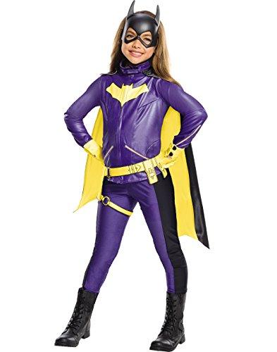 Rubie's Costume Girls DC Comics Premium Batgirl Costume,