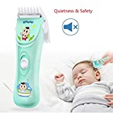 ENSSU Quiet&Safety Baby Hair Clippers, Silent kids Hair Trimmers,Chargeable Waterproof Professional Cordless Hair Clipper for Baby Children Kids infant, 0mm-12mm clipper blade