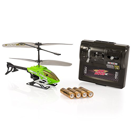 Heli Air Rc Radio (Air Hogs Axis 200 R/C Helicopter with Batteries, Green)