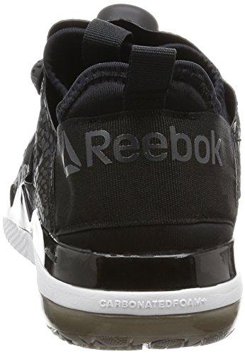 Reebok 0 Femme Fusion 2 Taille Pump Chaussure Noir TTRqS