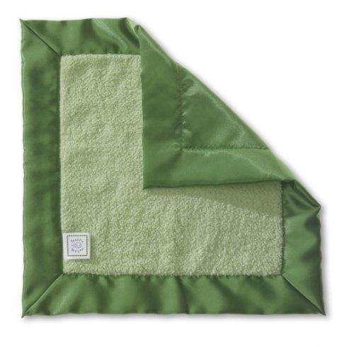 SwaddleDesigns Lovie Security Blanket Green