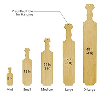 Amazon x large 48 official fraternity sorority greek x large 48quot official fraternity sorority greek wooden paddle pronofoot35fo Choice Image