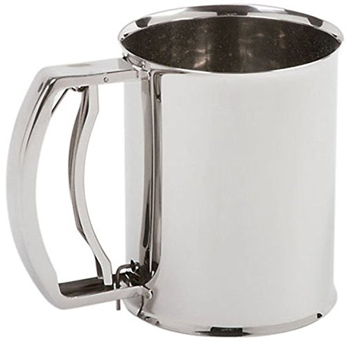 Norpro 3 Cup Stainless Steel Deluxe Sifter by Norpro