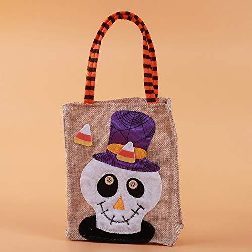 Sala Houseware - Halloween Candy Bag Gift Bags Pumpkin Trick or Treat Bags Sacks Hallowmas Gift For Kids Event Party Supplies Decor -