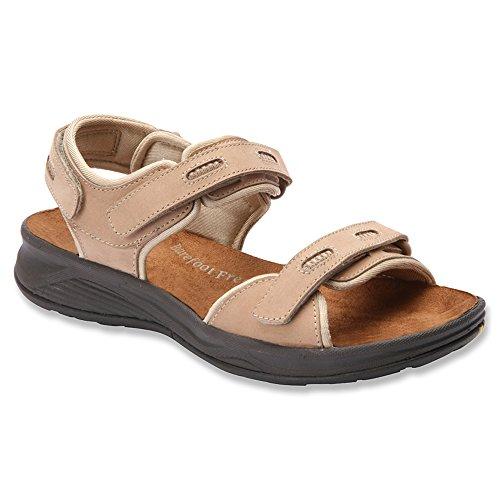 Drew M Women's Sand sandals Black Cascade 9 Nubuck Nubuck 5 rnrwgq1O0