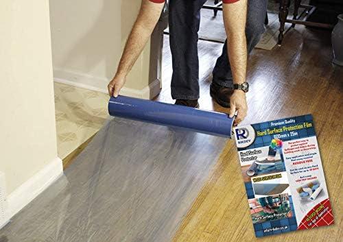 Rikdev® Premium Bodenschutzfolie, selbstklebend, 25 m lang x 60 mm breit