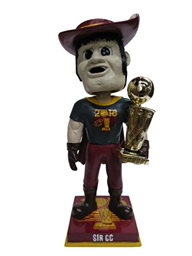Sir CC Cleveland Cavaliers 2016 NBA Champions Mascot Special Edition Championship T-Shirt Bobblehead Bobble head - Individually Numbered to 216 by Forever Collectibles