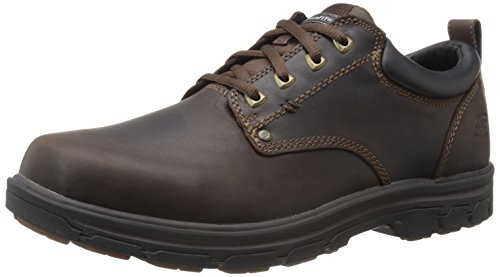 Skechers Men's Segment Rilar Oxford,Brown,11.5 2E US