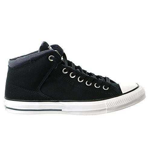 Converse Womens CTAS High Stree Canvas Trainers negro (Black Sharkskin)