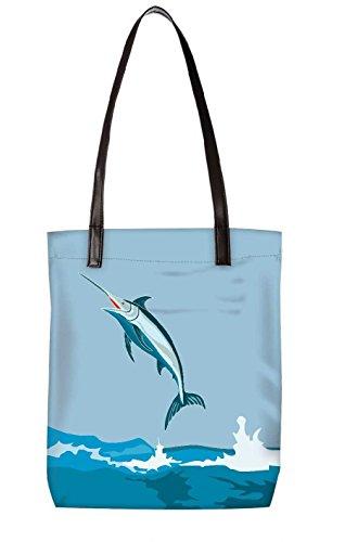 Snoogg Strandtasche, mehrfarbig (mehrfarbig) - LTR-BL-4036-ToteBag