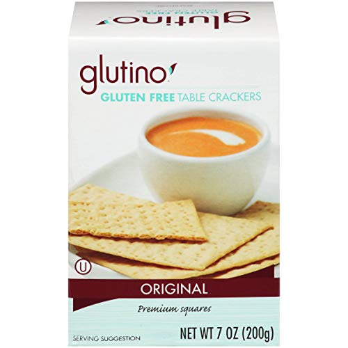 Free Crackers Gluten Glutino (Glutino Table Crackers 7-ounce Boxes (Pack of 12))