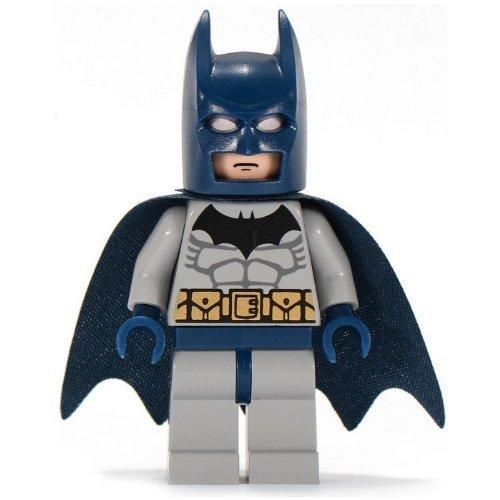Best LEGO Original 2007 Dark Blue Batman Minifig Minifigure Figure 7787 7786 Mint