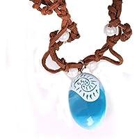 VWH Pendant Necklace Princess Moana Necklace Ocean Romance Chain for Women