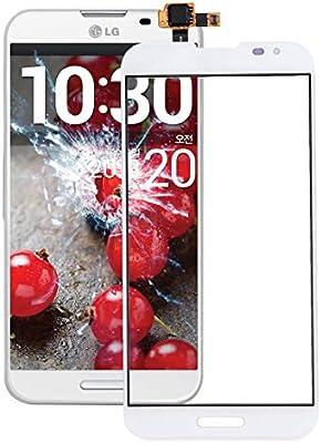 YANCAI Repuestos para Smartphone Nuevo digitalizador de Panel táctil para LG Optimus G Pro / F240 / E980 / E985 / E988 (Negro) Flex Cable (Color : Blanco): Amazon.es: Electrónica