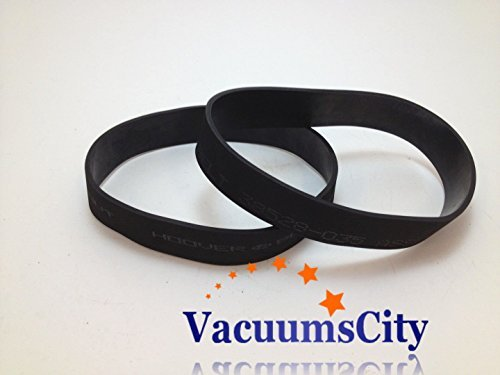Hoover Windtunnel Self Propelled 38528-035 Flat Belts 2 Pk Generic Part # 17387