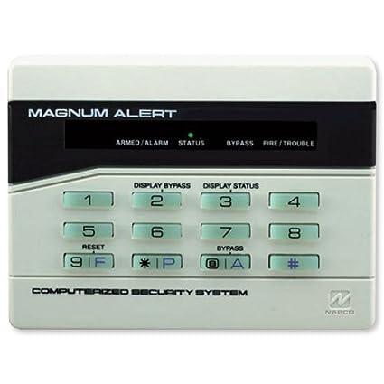 amazon com napco rp1054e backlit digital display keypad access rh amazon com Alarm Keypad Napco Magnum Alert 1000 Manual