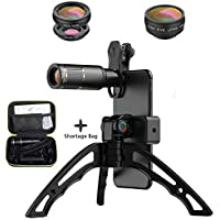 Cell Phone Camera Lens Kit – 4 in 1 Phone Lens Kit with...