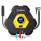Best Auto Tire Inflators - AUDEW Portable Air Compressor Pump, Auto Digital Tire Review