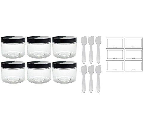 12oz plastic jars - 9