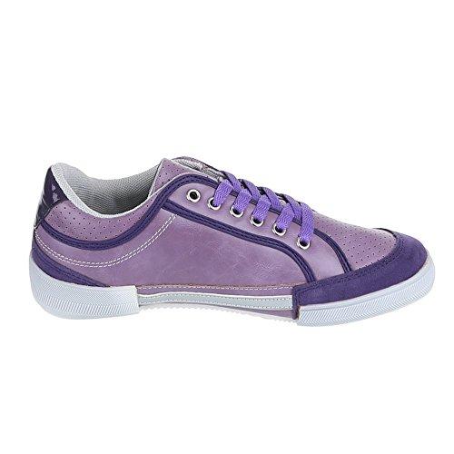 Ital-Design - Zapatillas de casa Mujer Morado - morado