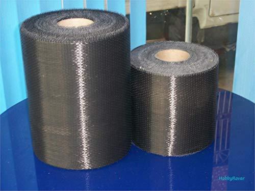 ([Grade B 3.4Gpa] 8 inch /20cm Width 200Gsm Carbon Fiber 12K Ud Uni-Directional Cloth Sewing Fabric Tap High Strength Repair Material)
