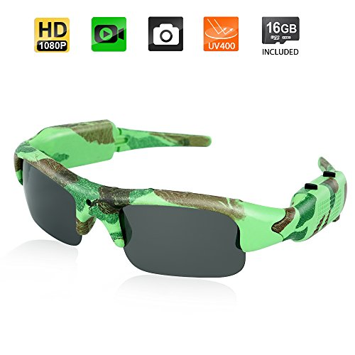 Toughsty Outdoor Polarized Sunglasses Recorder