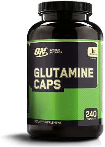 Optimum Nutrition L-Glutamine Muscle Recovery Capsule