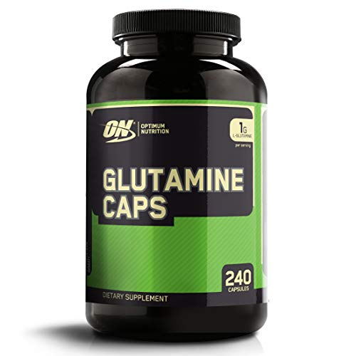 OPTIMUM NUTRITION L-Glutamine Muscle Recovery Capsules, 1000mg, 240 Count Package May Vary