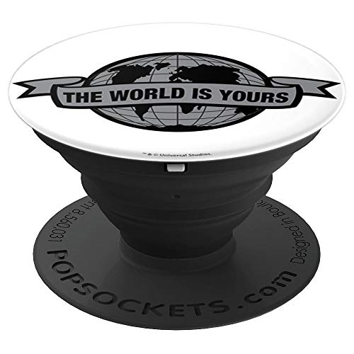 Globe Banner - Scarface The World Is Yours Grey