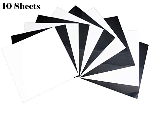 guangyintong Black and White Heat Transfer Vinyl - 11.8