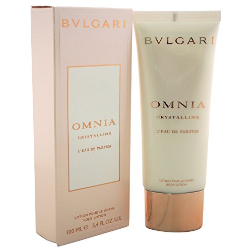 - Bvlgari Omnia Crystalline L'eau De Parfum Women's Body Lotion, 3.4 Ounce