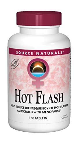 Source Naturals - Hot Flash Non-Gmo Soy, 180 tablets