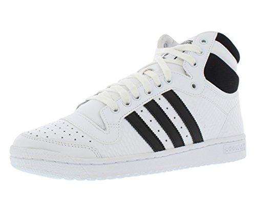 adidas Women's Top Ten Hi W White/Black B35339 (SIZE: 9.5)