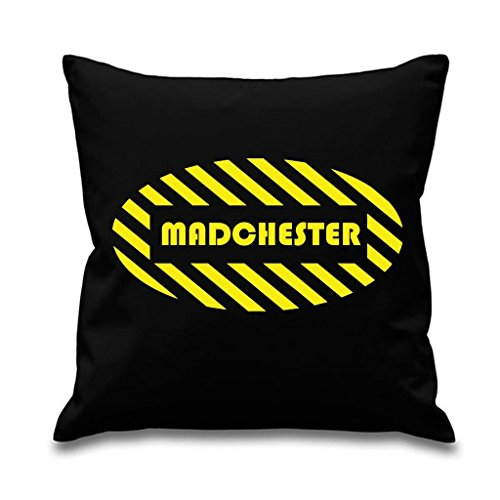 "Tribal T-Shirts Madchester 18"" x 18"" Filled Sofa Throw Cushi"
