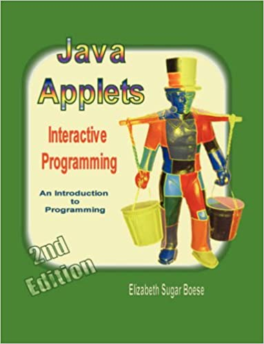Java Applets 2nd Ed B W Interactive Programming Elizabeth Sugar
