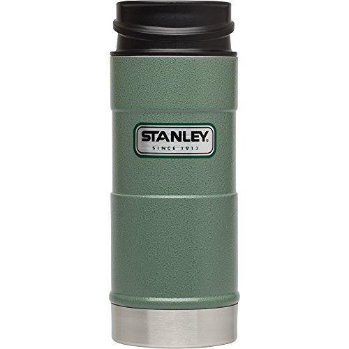 Stanley Classic One Hand Vacuum Mug 12oz Hammertone Green