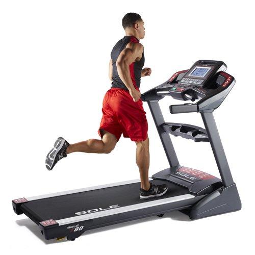 Sole Fitness F80 Treadmill 2017 Model (Treadmill Sole 80)