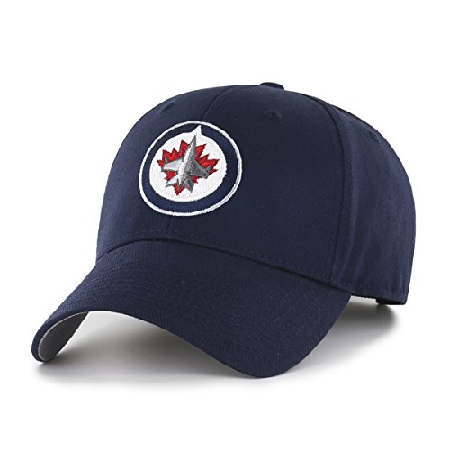 Winnipeg Jets Nhl (NHL Winnipeg Jets OTS All-Star Adjustable Hat, Navy, One Size)