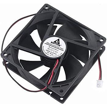 GDSTIME 92mm x 92mm x 25mm 90mm 3.6 Inches 12v Brushless Dc Cooling Fan