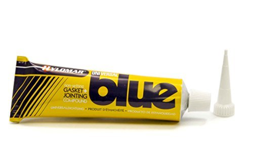 Valco Cincinnati 71283 Hylomar Blue Gasket Marker and Thread Sealant Tube with Nozzle - 100 Grams