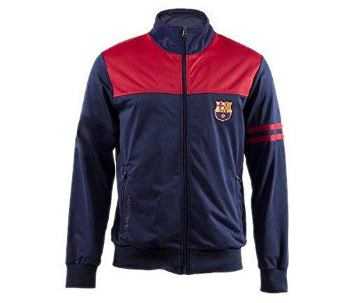 Felpa FC Barcelona - Prodotto Licenziato - Bambino Taglia 10 - Misure - Seno 38 - Lunghezza totale 48 cm. Roger' s