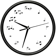 MUSIC TIME Wall Clock music lover musican artist school band gift